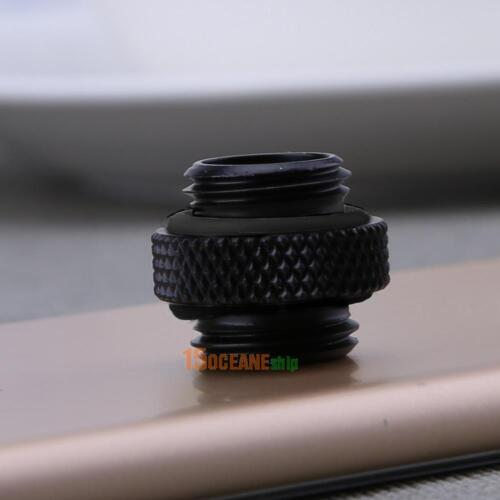 G1//4 Dual External Outer Thread Fitting Tube Hose Connector for PC Water Cooling