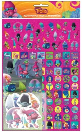Trolls Stickers Mega Pack of 150 Stickers