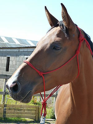QUALITY ROPE HALTER FOR PARELLI NATURAL HORSEMANSHIP. CHOICE OF NINE SIZES