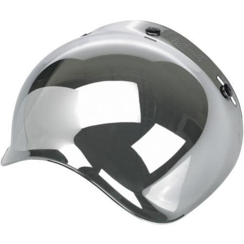 Visiera Caschi Casco Jet Bubble Bolla Biltwell Bandit DMD Yam Specchio Mirror