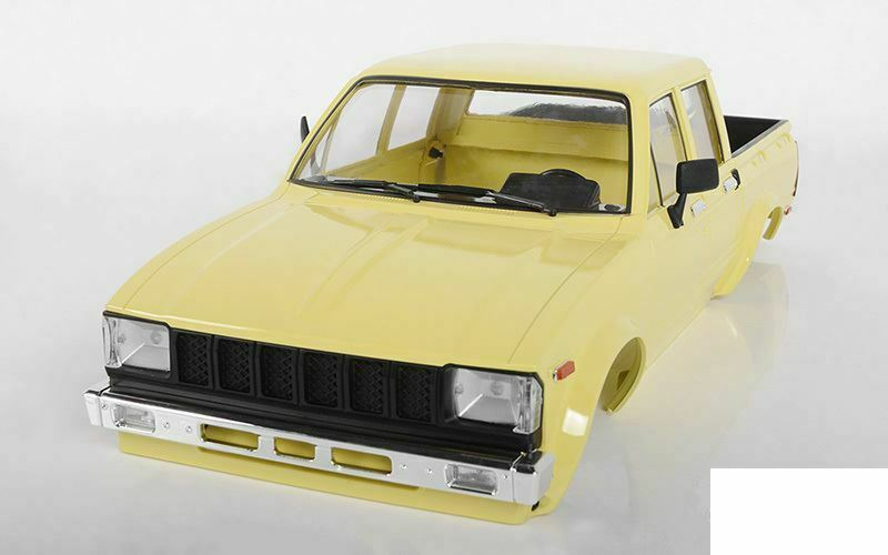 RC4WD Mojave II Four Door Complete Body Set TAN Z-B0206 RC4WD Hilux Beige