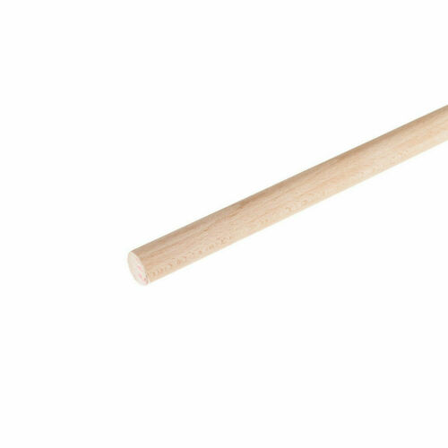 Wooden Broom Handles 1.2 Meter x 22mm Thick Brush Flower Support Flag Pole New