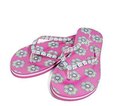 NWT Vera Bradley Flip Flops in Pink