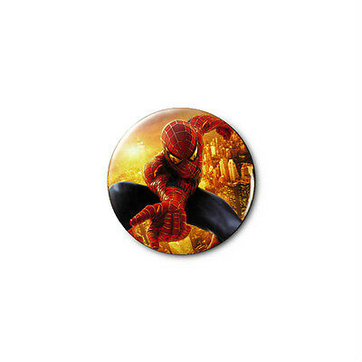 Spiderman (b) 1.25in Pins Buttons Badge *BUY 2, GET 1 FREE*