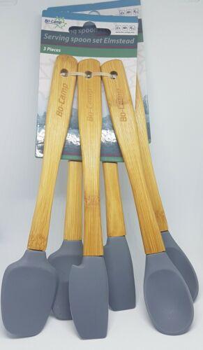 Bamboo handle Camp Picnic 6 Piece Tableware