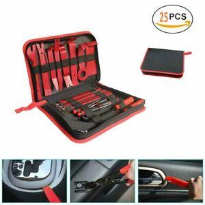 DE Entfernung 8 Stück Öffnungswerkzeug Auto Tür Trim Removal Tool Pry Panel Dash
