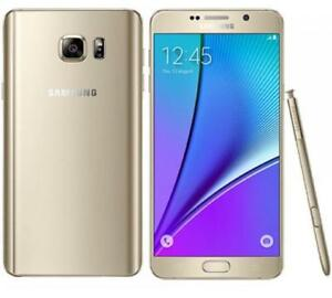 Samsung-Galaxy-Note5-N920A-AT-amp-T-4G-LTE-32GB-Unlocked-SmartPhone-Gold