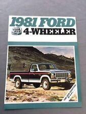 1979 Ford Pick Up Sales Catalog.-Original