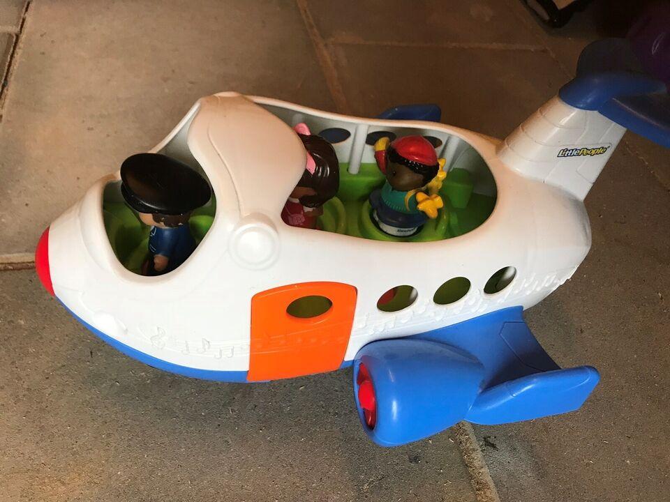 Blandet legetøj, Bus og flyver, Little People Fischer
