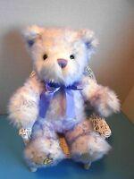 Build A Bear Workshop Nikki's Purple Stuffed Plush Teddy Bear Children's Cancer