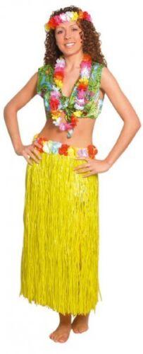 LONG Luau Hawaiano Hula Gon na 80CM PER BEACH PARTY SUMMER FANCY DRESS