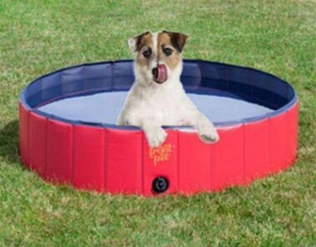 Foldable Dog Pool Pet Bath Swimming Tub Bathing Pool for Dogs Cats Kids