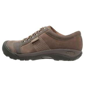 Keen-Austin-Mens-Brown-Leather-Walking-Shoes-Size-UK-8-13