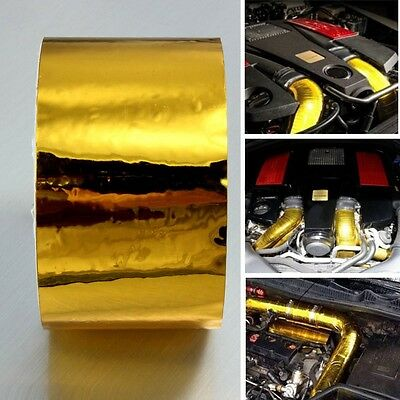 Gold Reflect Tape High Performance Reflective Heat Protection 2'' 450cm Roll