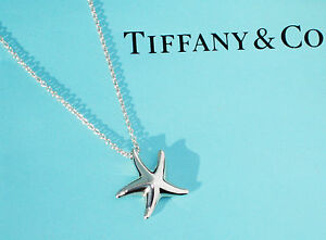 STUNNING Tiffany amp Co Elsa Peretti Silver Mini Starfish Pendant Necklace - <span itemprop=availableAtOrFrom>Shoreham-By-Sea, West Sussex, United Kingdom</span> - Please email with any request to return an item within 30 days. Many thanks Most purchases from business sellers are protected by the Consumer Contract Regulations 20 - Shoreham-By-Sea, West Sussex, United Kingdom