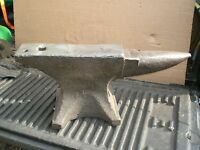 Antique Peter Wright Blacksmith Anvil 145lb  Pick up only  NO shipping