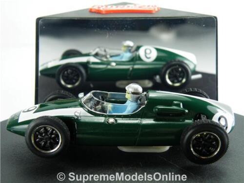 Cooper Climax T51 modèle de voiture Bruce McLaren 1:43 Taille Usa Gp Quartzo Q4101 vert T
