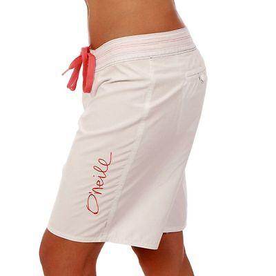 O'Neill Womens Girls Ladies Honolulu Super WhIte Board Shorts Sizes 14 - New