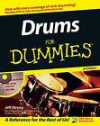Drums For Dummies by Jeff Strong (Paperback, 2006)