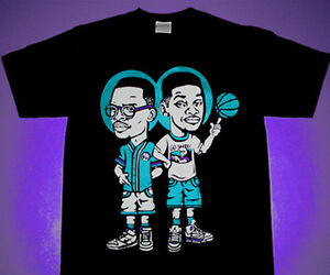 796e44ebc0b03 Details about Fresh Prince of Bel Air Will & Jazzy Jeff shirt for air  jordan 8 aqua reverse 5