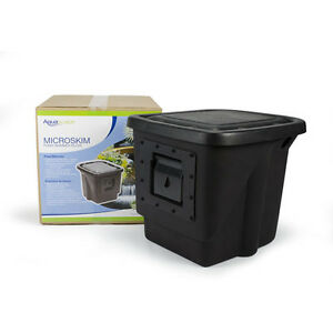 Aquascape 99771 signature skimmer with filter brushes pond for Koi pond pool filter