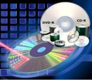 CD-R-DVD-R-DVD-R-RW-vergine-Verbatim-Maxell-Mediarange-25-50-100-16x-52x-6x