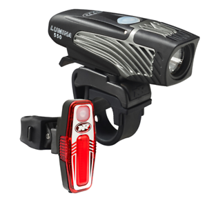 Nite Rider Lumina Micro 550 Bike Head Light + Sabre 80 Tail Light Combo  104.95