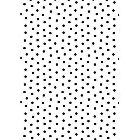 19.7x19.7cm Kwan Crafts Large Size Dots Plastic Embossing Folders for Card Making Scrapbooking and Other Paper Crafts