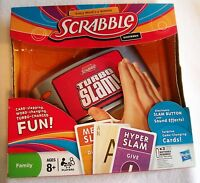 Hasbro Scrabble Electronic Turbo Slam Game Christmas Special