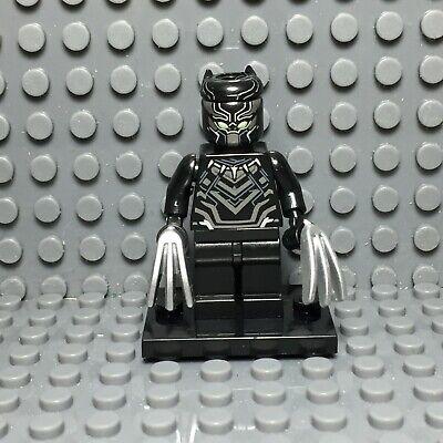 WHITE PANTHER **NEW** Custom Printed Marvel Universe Black Block Minifigure