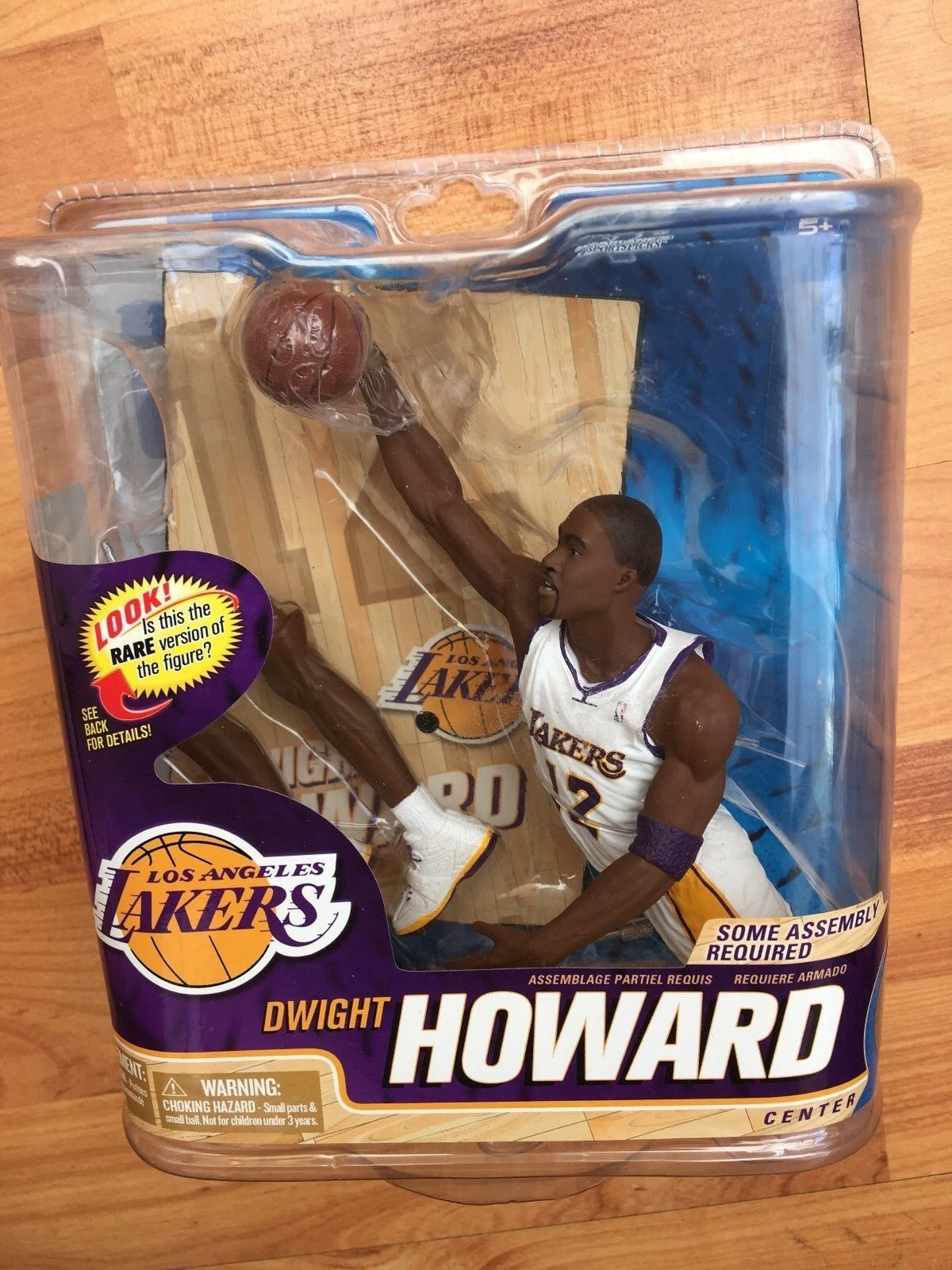 BNIB MCFARLANE BASKETBALL NBA SERIES 22 FIGURE DWIGHT HOWARD CHASE VARIANT  LA