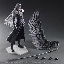 Play Arts Kai Final Fantasy 7 VII Sephiroth PVC Action Figure Statue 3D Model