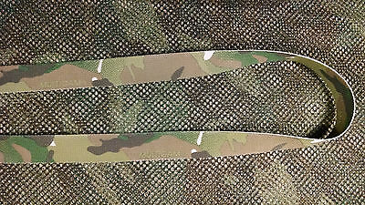 Military Nylon Webbing 1 Inch Mil Spec-Kryptek-Multicam-Digital-2 Sided-Per Yard