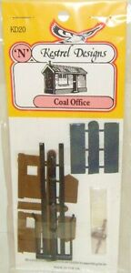 Kestrel KD20 Coal Office. (Plastic Model Kit) N Gauge Railway