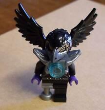 Lego Legends of Chima - Rizzo Figur Vogel schwarz mit Flügeln und Maske Bird Neu