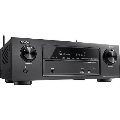 Denon AV Receiver-X1400H 7.2 Kanäle WLAN 4K Dolby Atmos Schwarz