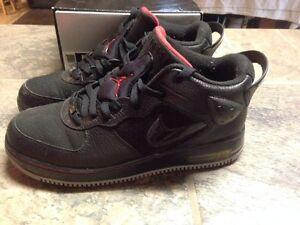 Air-Force-Air-Jordan-6-5-8th-AF6-Black-Red-Size-8-343095-001