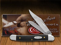 Case Xx Black Delrin Medium Jack Stainless Pocket Knives Knife