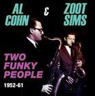 Cohn Al Sims Zoot Two Funky People 1952-61 4 CD