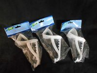 Over The Door Hook Clothes Hanger Set Of 3 White Bedroom Bathroom Closet Nip