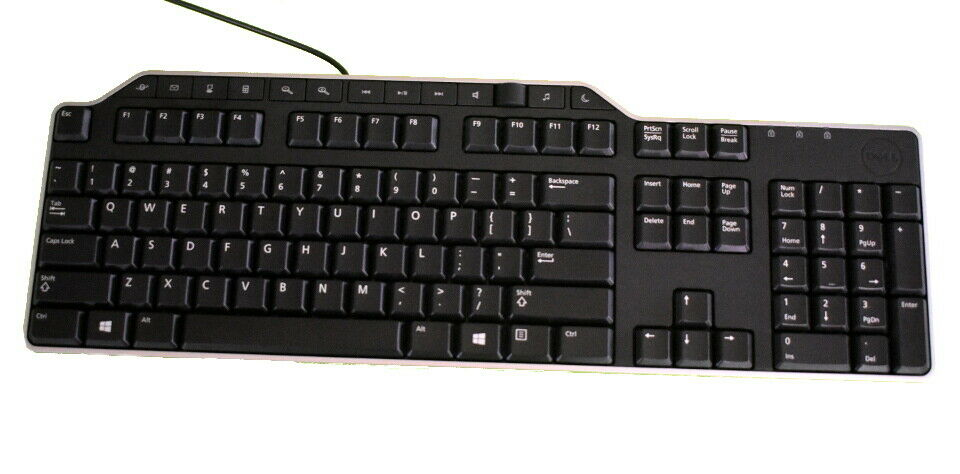 Dell KB522 01RW52 wired USB Multimedia PC Keyboard with USB HUB and Volume Knob. Buy it now for 12.00