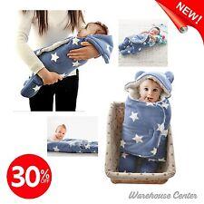 "Winter Fleece Cashmere Swaddle Blanket 30"" No Shrink Car Seat Stroller Baby Gift"