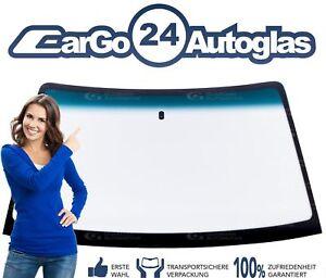 Opel-Kadett-E-Frontscheibe-Windschutzscheibe-mit-Blaukeil-Spiegelhalter-Neu