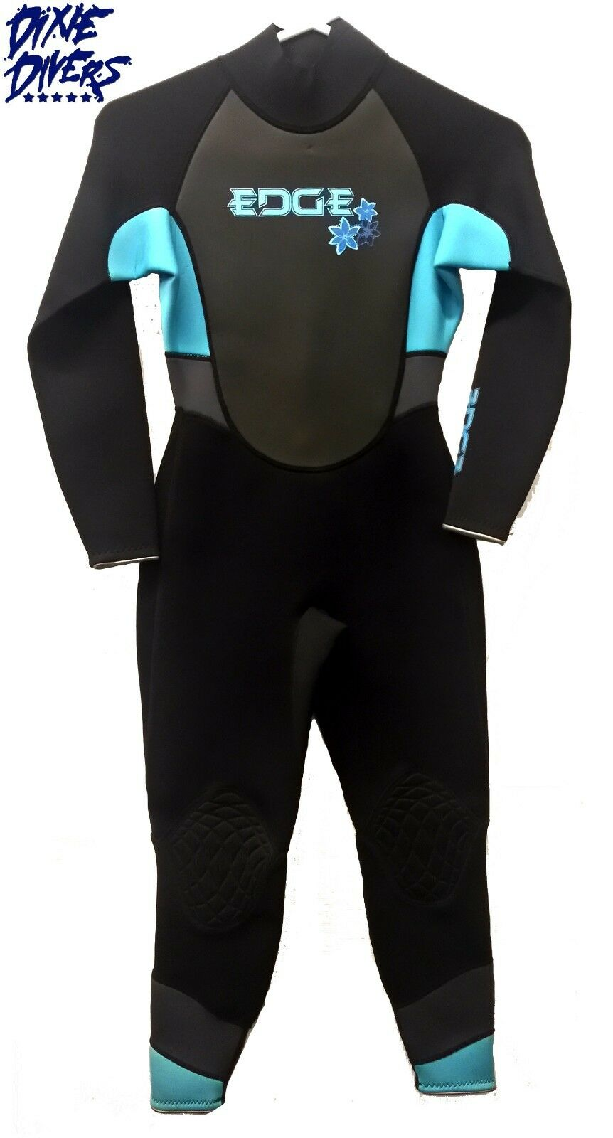 ATLAN FLEXTEC 3   2 mm Womens Jumpsuit Wetsuit Scuba Diving Freediving Size XXS