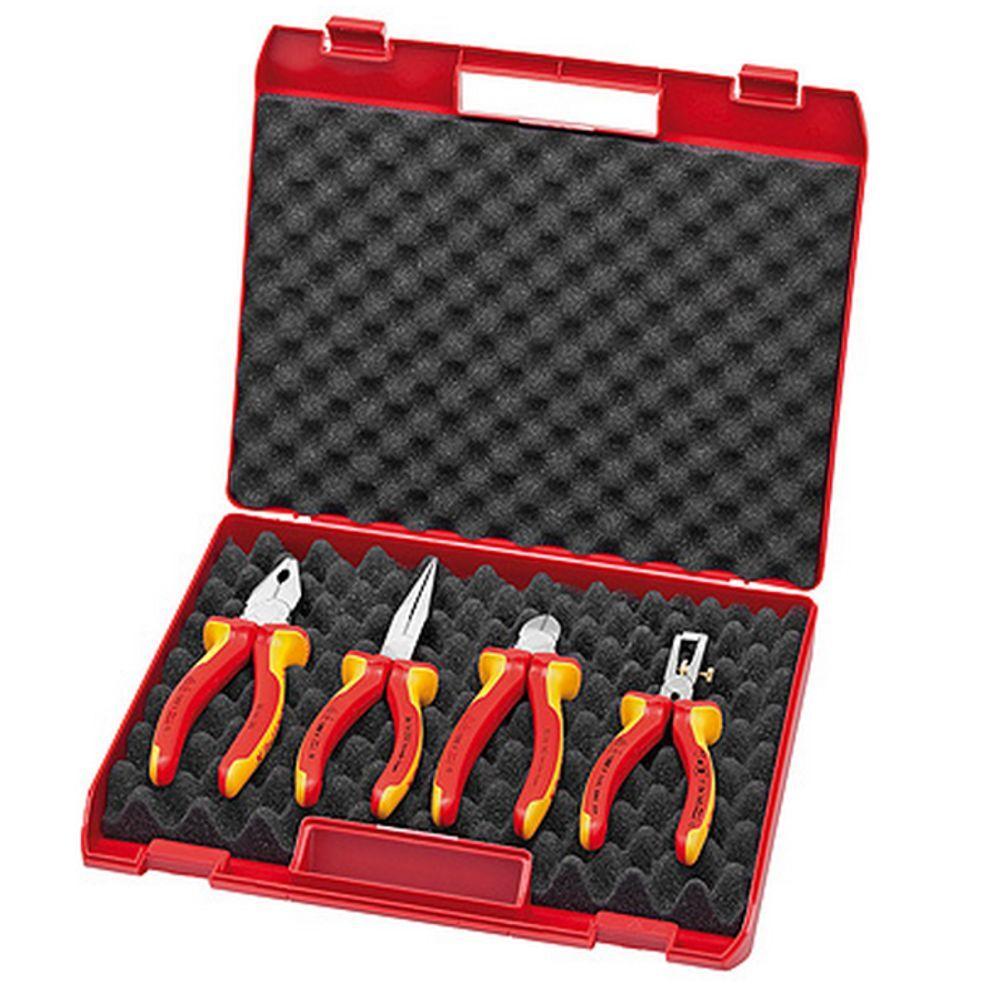 Knipex Kompakt-Box mit VDE-WerkzeugenKnipex Kompakt-Box VDE-Werkzeuge Neu