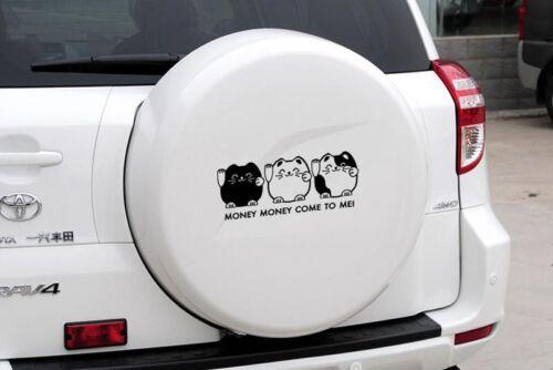 Money For Auto Car//Bumper//Window Vinyl Decal Sticker Decals DIY Decor CT015