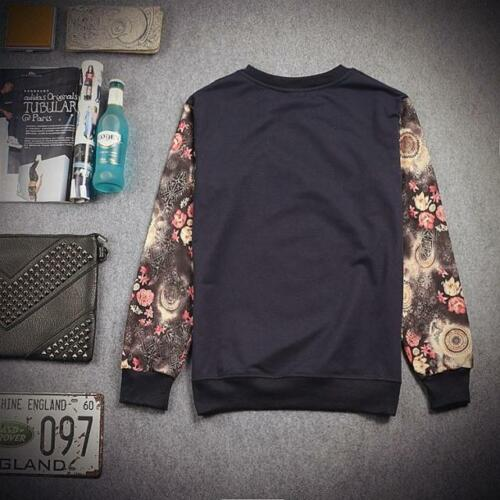 unique graffiti fresh dope different hipster Floral Sleeves Lightweight Jumper