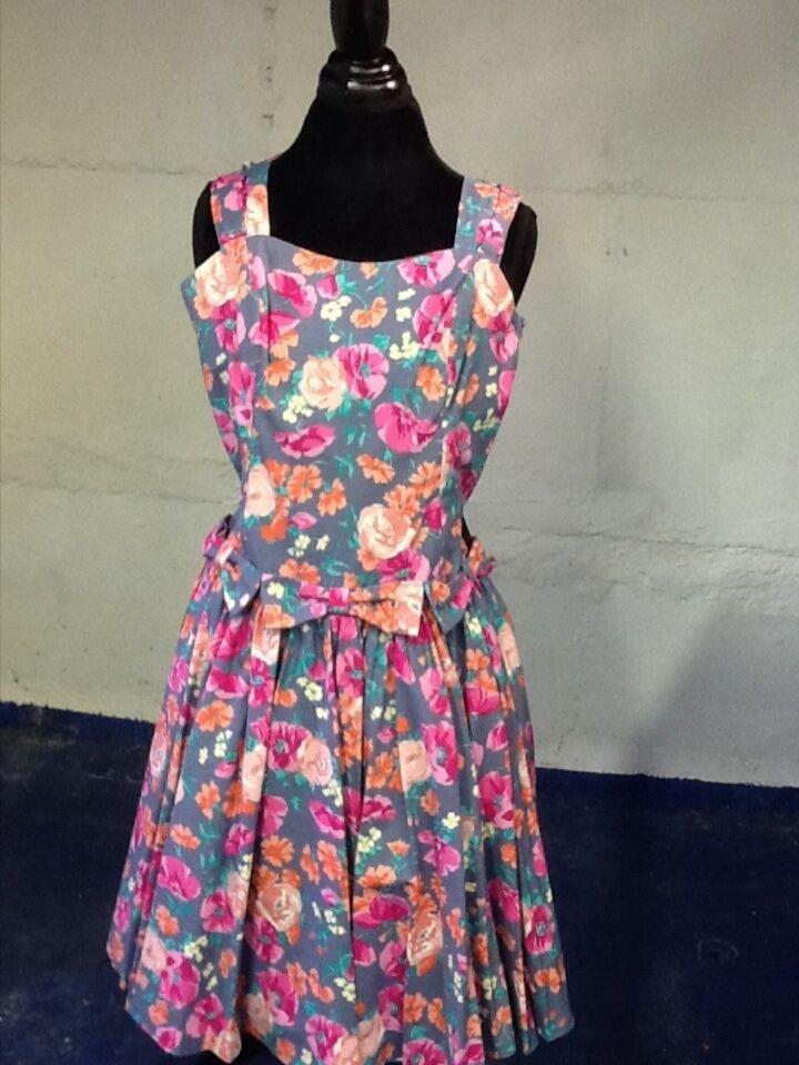 Laura Ashley Party Dress  with Flirty Petticoat 12 (8)