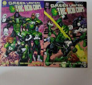 Green-Lantern-The-New-Corps-1-amp-2-TPB-DC-1999