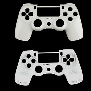 White-Replacement-Housing-Shell-Case-Cover-for-PS4-Front-Controllers-DualShock